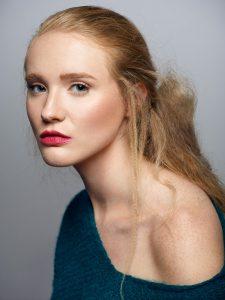 Beauty Photoshoot Kellyanne of Wilhelmina Models